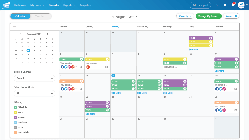 Swonkie Calendar